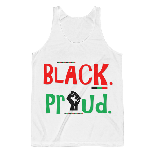 BLACK. PROUD. Unisex Classic Fit Tank Top (Limited Edition)