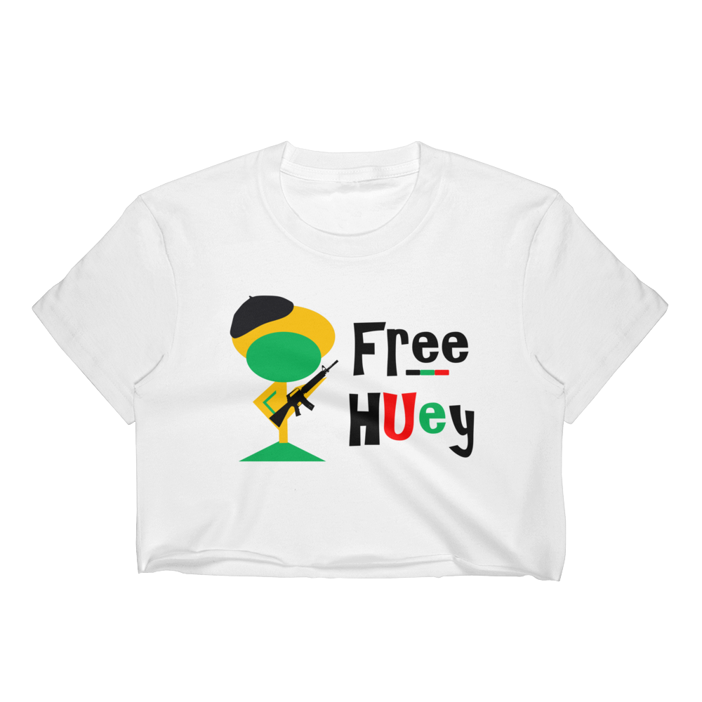 FREE HUEY Fitted Crop Top
