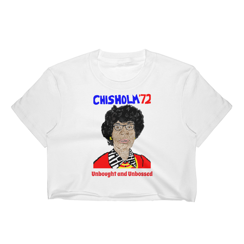 CHISHOLM 72 Fitted Crop Top