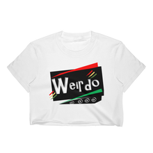 WEIRDO fitted Crop Top