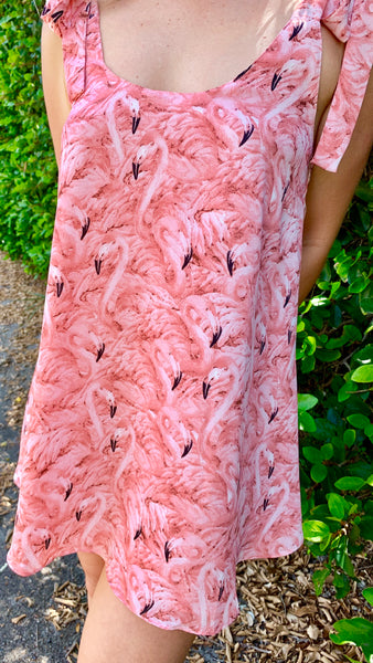 BuddyLove Kerr Dress Flamingo