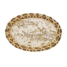 Blonder Home Birch Tree Bark Lodge Rustic Cabin Bath Soap Dish