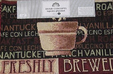 Freshly Brewed Coffee Espresso Java Tapestry Table Placemats Set of 4