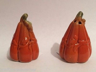 Salt and Pepper Shaker Set Pumpkins Gourds