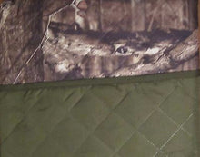Mossy Oak Camouflage Cabin Reversible Furniture Protector Slipcover Sofa 74x110