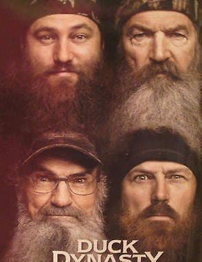Throw Blanket Duck Dynasty Willie Phil Jose Si Robertson  46x60
