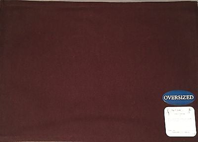 Park B Smith Taylor Oversized Placemats Set of 4 Coffee Brown