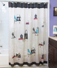 Fashionista Fabric Shower Curtain