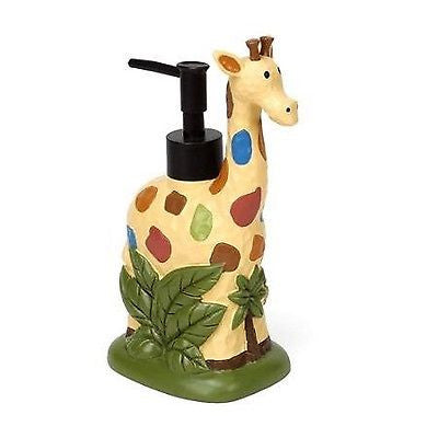 Saturday Knight Safari Giraffe Soap Lotion Pump Dispenser