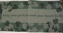 Irish Blessing St Patrick's Day Tapestry Table Runner and Placemats 5 piece Set