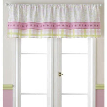 Laura Ashley Love Pink Plaid Flowers Valance