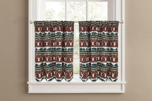 Colordrift Wilderness Tier Set or Valance Kitchen Curtains Spice