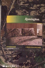 Pillowcases Camo Camouflage Remington Set of 2