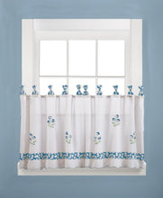 Oopsy Daisy 57 x 24 Tier Pair in Cornflower Blue