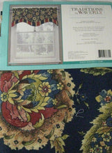 "Traditions By Waverly Grand Bazaar Kristy Valance 52""w X 16"" L Jewel Blue"