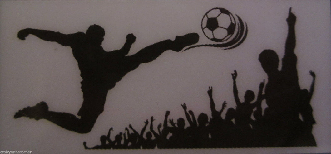 Hip In A Hurray HIH Wall Graphics Art Transfers Decals Soccer Star