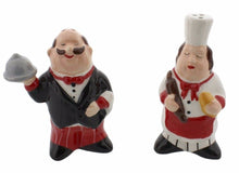 American Atelier Chef Salt and Pepper Shakers