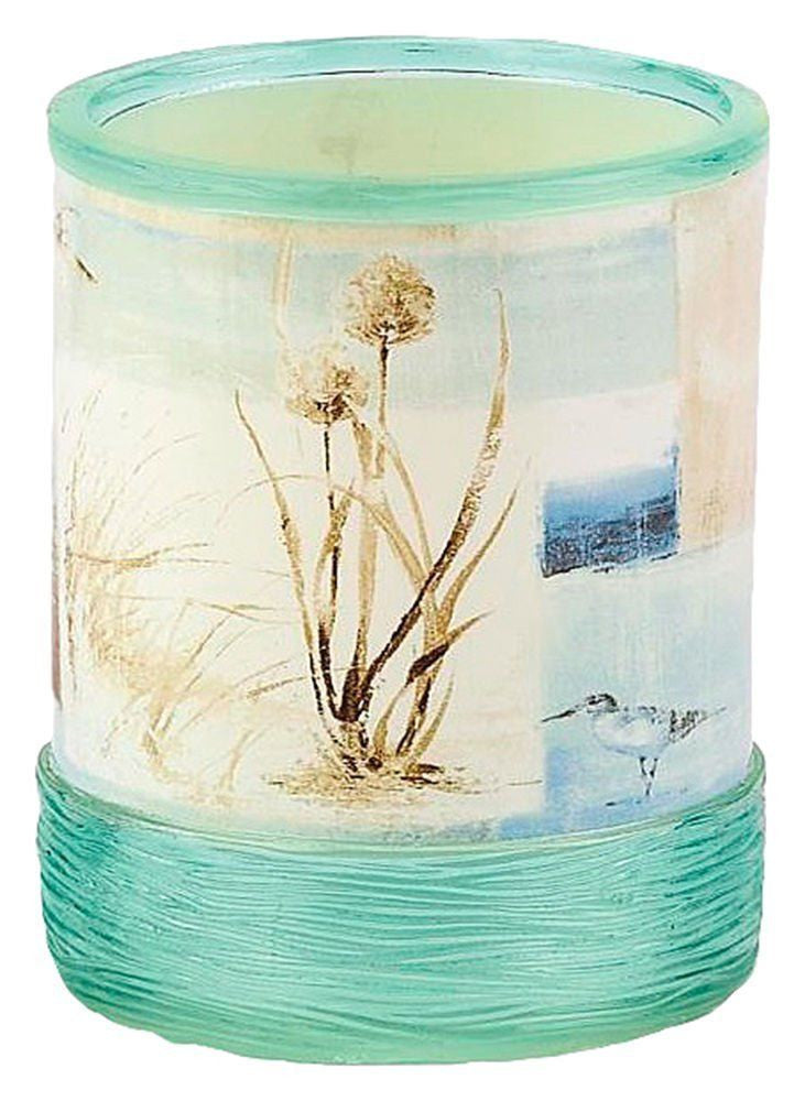 Blonder Home Blue Waters Bath Tumbler Cup