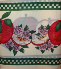 Country Red Delicious Apples Apples 36L Tiers Swag Set Kitchen Curtains
