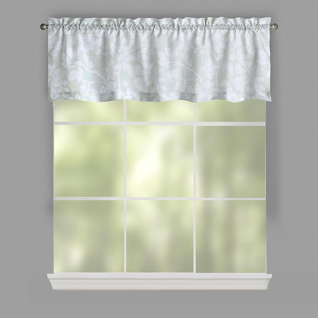 Lichtenberg Top of the Window Valance Aris Celadon
