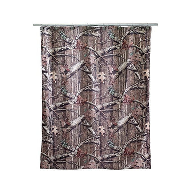 Mossy Oak Break Up Infinity Fabric Shower Curtain Camo Camouflage