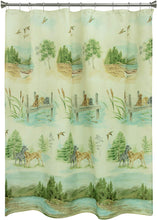 Woodland Dogs Shower Curtain