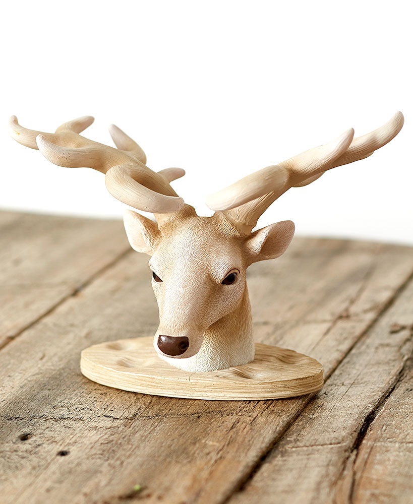 Hunters Toothbrush Holder Deer Head Lodge Cabin