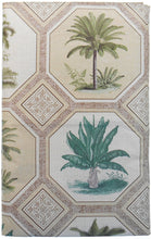 Elrene Tropical Palm Trees Vinyl Flannel Backed Tablecloth