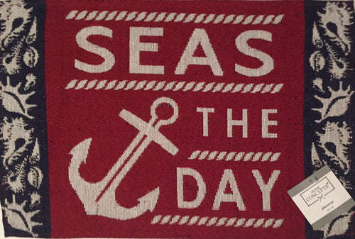 Nautical Seas The Day Tapestry Placemats Set of 4