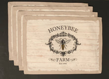 Honey Bee Farm Placemats Set of 4