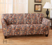 Kings Camo Woodland Shadow Stretch Sofa Slipcover Camouflage