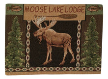 Lake Moose Lodge Tapestry Placemats Set of 4