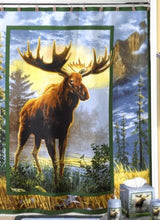 Hautman Brothers Majestic Moose Fabric Shower Curtain