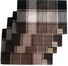 Park B Smith Blockbuster Quarry Placemats Set of 4 Black Brown