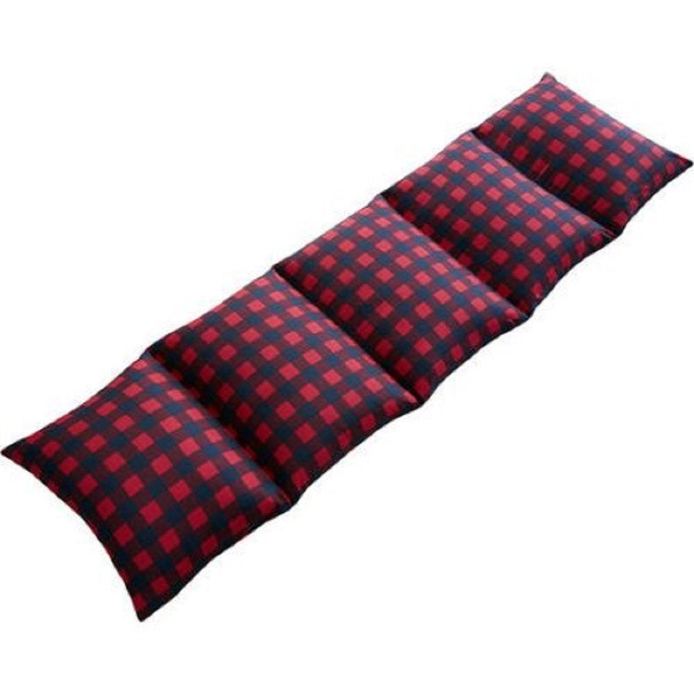Red Plaid Caterpillow Pillow Sham