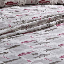 Queen Sheet Set Trout Fishing Remington