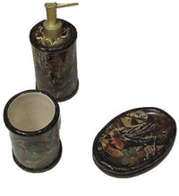 Seclusion 3D Camouflage Camo 3 pc Bath Set