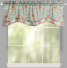 Waverly Magic Carpet Opal Scalloped Valance