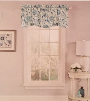 Waverly Valance Curtain Grand Bazaar Sky Blue