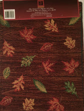 Windham Tapestry Table Runner Brown 13 x 72 Fall Gather Together Owl