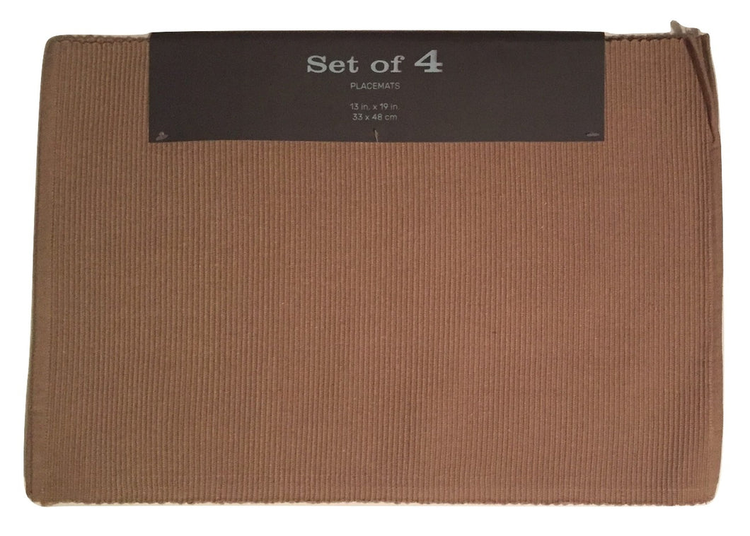 Biscuit Beige Placemats Set of 4