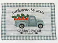 Carrot Patch Tapestry Placemats Set of 4 Easter Spring