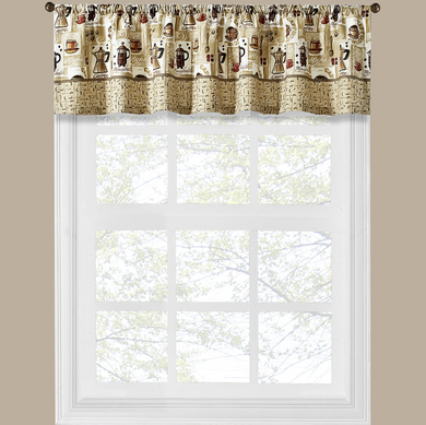 Coffee Shop Kitchen Valance