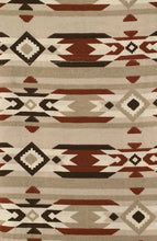 New Mexico Natural Tier Set 58x24 Kitchen Curtains Southwestern