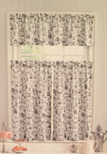 Ellery Homestyles 36 inch Tiers and Valance Curtain Set Vintage Pantry