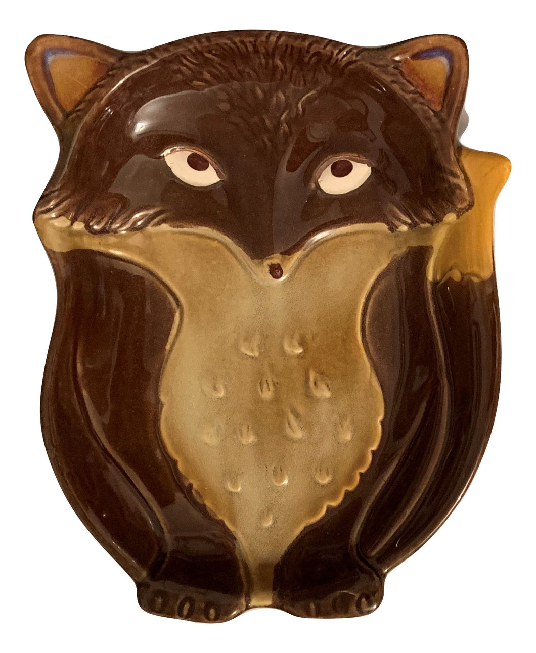 Natures Home Ceramic Fox Spoon Rest Brown