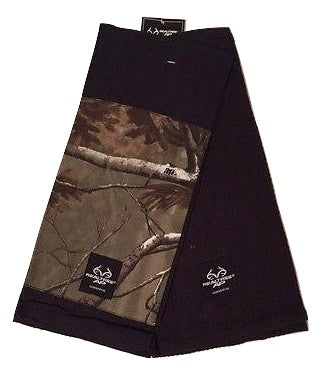 Realtree AP Set of 2 Kitchen Towels Camo Camouflage Black