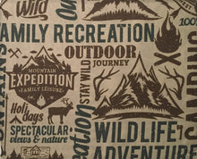 Remington King Sheet Set Wildlife Adventures Mountains Cabin Lodge Camping