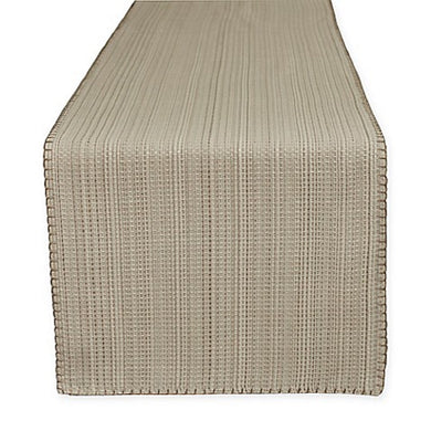 Terra Woven Lyon Table Runner in Sand 14 x 72
