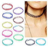2PCS/lot Stretch Tattoo Choker Necklace